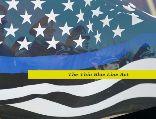 "President Cabral's Letter to Congressman Buchanan regarding H.R. 72, ""The Thin Blue Line Act"""