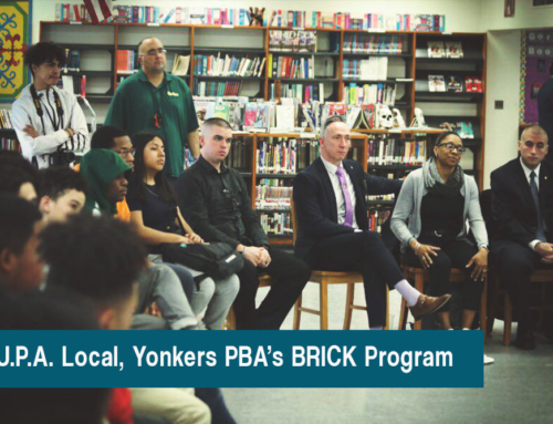 I.U.P.A. Local, Yonkers PBA's BRICK Program