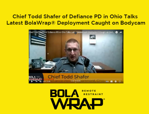 Video: Defiance Police Department Officers Use BolaWrap to Prevent Attempted 'Suicide by Cop'